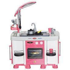 Wader Cucina Con Lavastoviglie 64x40x87 Cm Rosa 1450632