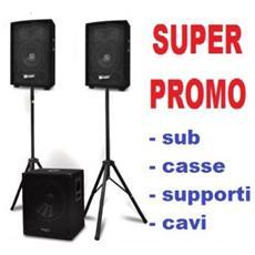 Sistema Amplificato Professionale Pro Series Art Ibisky4