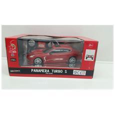Porsche - Porsche Panamera Turbo S - Radiotelecomandata - Scala 1:24 - Rossa
