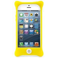 Custodia in silicone per iPhone 5, Giallo