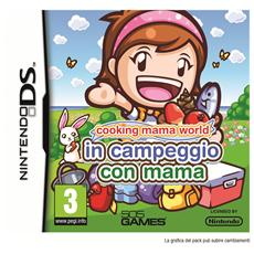 NDS - Cooking Mama World In Campeggio con Mama