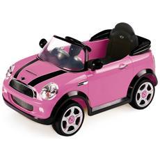 Auto Elettrica Mini Cooper con Luci, Suoni e Telecomando 6 Volt 1022 / RS