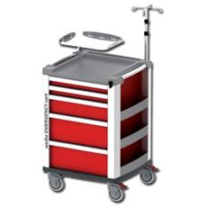 Compact Kart Emergenza - Rosso