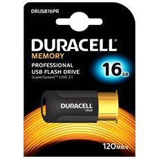 Chiavetta USB 16 GB Interfaccia USB 3.0 Colore Nero e Arancione