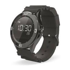 "TechWatchONE Display 1.22"" Bluetooth Round Full Black per Android e iOS"