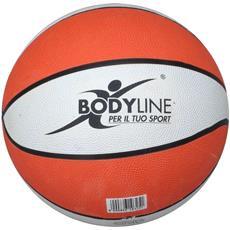 Pallone Basket Ufficiale Arancio Bianco Taglia Unica