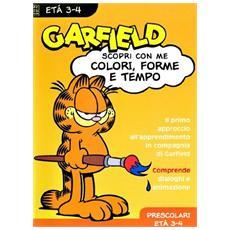 Garfield - Colori, Forme e Tempi 3-4 anni