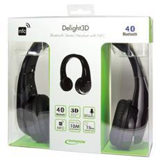 TM003, Stereofonico, Padiglione auricolare, Nero, NFC / Bluetooth, Circumaurale, 20 - 20000 Hz