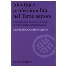 Identità e professionalità nel terzo settore. Orientamento strategico di fondo con uno sguardo internazionale