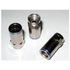 Fcp03.9c Connettore Professionale 4.5 mm a Compressione Push-on