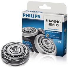 Testine di Rasatura Shaver Series 9000 Lame di Precisione V-Track Pro