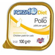 Forza10 Gatto, Dieta Solo Pollo Dall'islanda Gr. 100