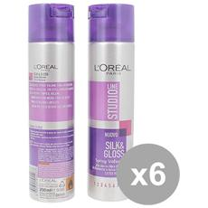 Set 6 Lacca 250 Silk&gloss Extra Volume