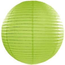 Lanterna Giapponese Color Verde Mela 25 Cm Taglia Unica