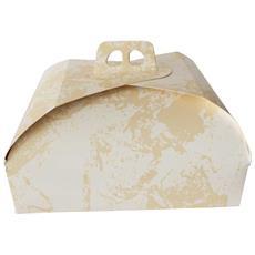 Scatola Torta Quadrata 31x31 Cm In Carta 1 Pz