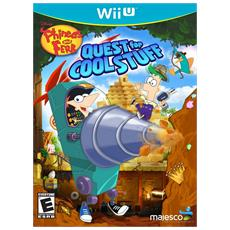 WiiU - Phineas & Ferb: Quest for Cool Stuff