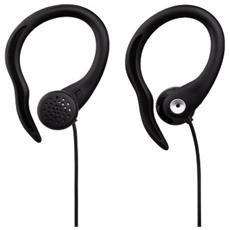 "Auricolare stereo Thomson ""EAR5105"" clip on sport, nero"