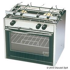 Cucina Compact 2 fuochi + forno