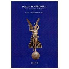 Forum sempronii, I. Scavi e ricerche 1974-2012