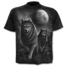 Spiral - Wolf Pack Wrap - T-shirt Black (T-Shirt Unisex Tg. XL)