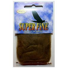 Super Fine Dryfly Dubbing Unica Marrone