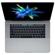 "MacBook Pro Monitor 15.4"" Retina Intel Core i7 Quad Core Ram 16GB SSD 256GB AMD Radeon Pro 555 2GB 4xThunderbolt 3 OS X - Grigio Siderale"