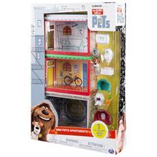 Mini Apartment Playset La vita segreta degli animali