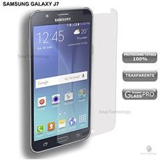 Pellicola Vetro Temperato Per Samsung Galaxy J7 J700f Trasparente Clear Proteggi Display Salva Schermo Touch Screen