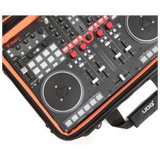 4500141, Zaino, Controllo per DJ, Nero, Universale, Monotono, Arancione