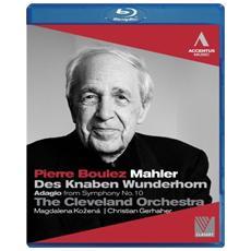 Mahler - Des Knaben Wunderhorn, Adagio Dalla Sinfonia N. 10 - Boulez Pierre Dir / magdalena Kozena, Mezzosoprano Christian Gerhaher, Baritono