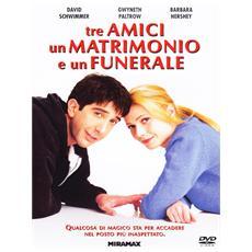 Dvd Tre Amici, Un Matrimonio E Un Funer.