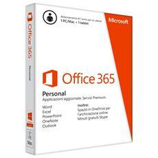 Office 365 Personal 32-bit / 64-bit 1 Licenza Versione Abbonamento 1 Anno Italiano