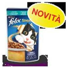Gatto, Sensation Gelatina Sgombro E Pomodoro Gr. 100