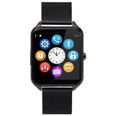 Smartwatch Z60 Slot Scheda Sim E Sd Card Bluetooth Fotocamera Orologio Telefono Nero