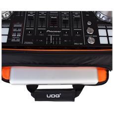 4500144, Zaino, Controllo per DJ, Nero, Universale, Monotono, Arancione