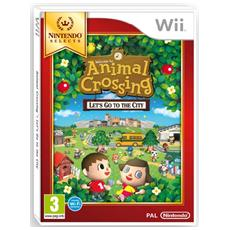 WII - Animal Crossing: Let's Go To The City Select