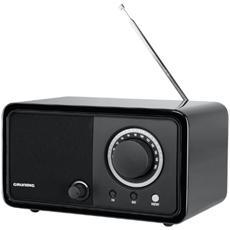 TR1200 Radio Portatile con Sintonizzatore Analogico Colore Nero Lucido