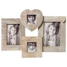 Le Coeur marrone per 4 foto legno Galerie QH499P