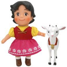 Heidi e la capretta