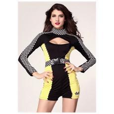 Costume Da Racer - Taglia Unica - Lc8762