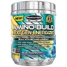 Amino Build Next Gen Energized 30 Servings - Lampone Blu