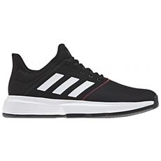 super popular d7593 d53c2 ADIDAS - Gamecourt M Shock Core Black  ftwr White  sho Scarpa Tennis Uomo  Uk 7