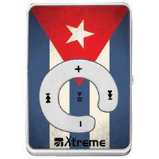 27629 Lettore MP3 8GB Blu, Bianco, Rosso lettore e registratore MP3 / MP4