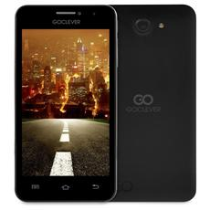"Quantum 450 Nero 4 GB Dual Sim Display 4.5"" Slot Micro SD Fotocamera 5 Mpx Android Italia"