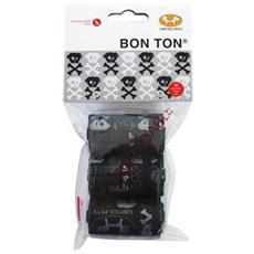 Bustine Bon Ton Nero Skull 3 Rotoli (10 bustine ognuno)