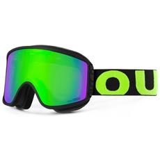 Maschera Snowboard Shift Black Green Nero Verde Taglia Unica