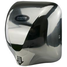 Asciugamani Automatico Da 1400 W, Con Getto D'aria Pulsante, Con Fissaggio A Parete, Asciuga Veloce Con Effetto Antibatterico, Tempo Di Asciugatura: 10-15 Secondi