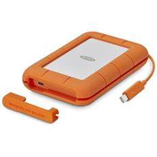 SSD 500 GB Rugged Interfaccia Thunderbolt / USB 3.0 Colore Arancione