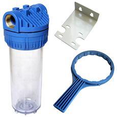 Porta Filtro Prof 10 Attacco 1? Per Acqua Tubo Irrigazione Giardino Casa Piscina