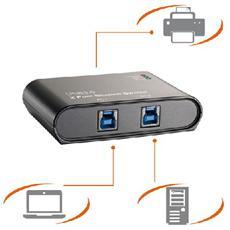 USB3-202 Cablato switch per stampante